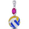 Volleyball Rocks Pendant